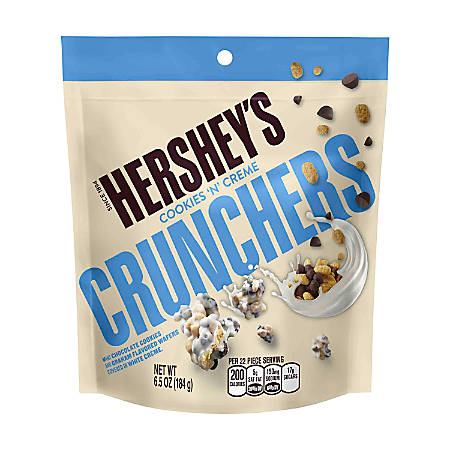 Hershey's® Cookies 'N' Crème Crunchers Pouches, 6.5 Oz, Pack Of 3
