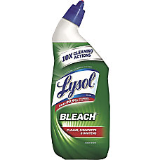Lysol Bleach Toilet Bowl Cleaner 019