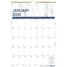 Rediform Marble Wall Calendar Yes Monthly