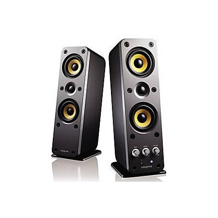 Creative GigaWorks T40 2.0 Speaker System - 32 W RMS - Glossy Black - 50 Hz to 20 kHz