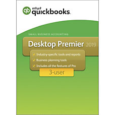 QuickBooks Desktop Premier 2019 For 3