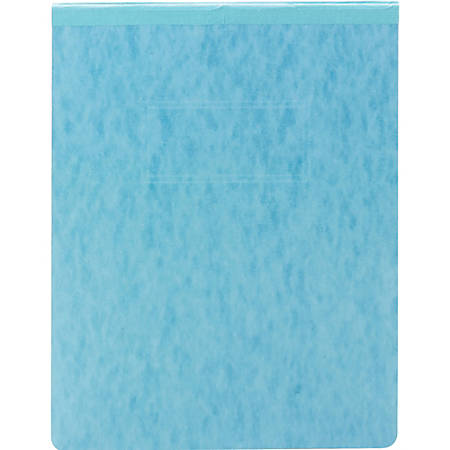 "Smead PressGuard® Report Covers - Letter - 8 1/2"" x 11"" Sheet Size - 500 Sheet Capacity - Prong Fastener - 2"" Fastener Capacity for Folder - 20 pt. Folder Thickness - Pressguard - Blue - Recycled - 1 Each"