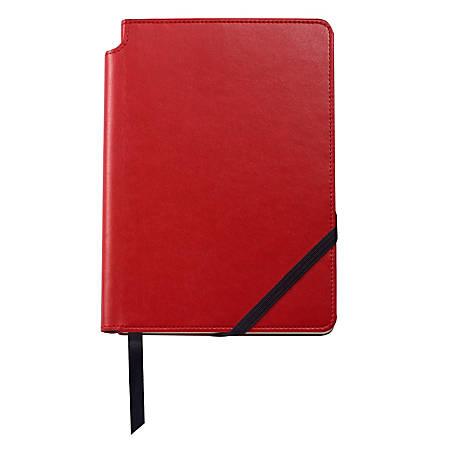 Cross® Classic® Journal, Medium, 1 Subject, College Ruled, 160 Pages (80 Sheets), Red