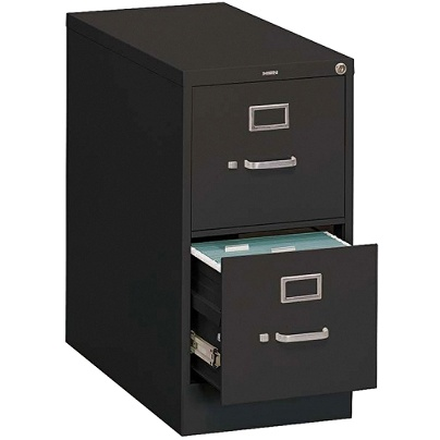 Hon 310 Series 2 Drawer Legal File Black Office Depot