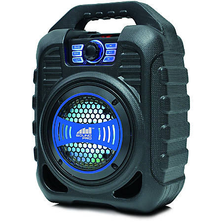 Naxa SOUND PRO NDS-5000 Portable Bluetooth Speaker System - Blue - Battery Rechargeable - USB