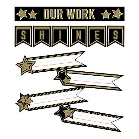 Carson-Dellosa Sparkle And Shine Super Star Student Work Mini Bulletin Board Set
