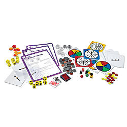 Learning Resources Deluxe Probability Kit Ages