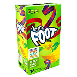 Fruit By The Foot Fruit Snacks