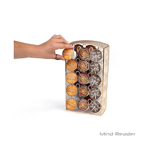 Mind Reader Metal Mesh K-Cup® Pod Storage Carousel, Gold