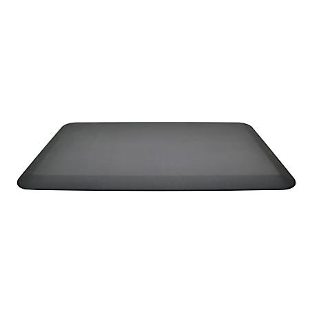 "Ergo Desktop GelPro NewLife Bio-Foam® Mat, 20"" x 32"", Black"