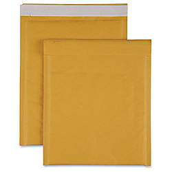 Sparco Size 2 Bubble Cushioned Mailers