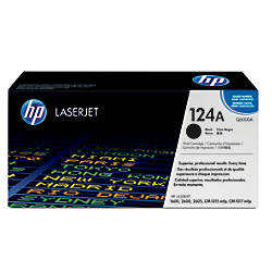 HP 124A Black Original Toner Cartridge