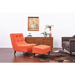 Ave Six Hudson Chair With Ottoman