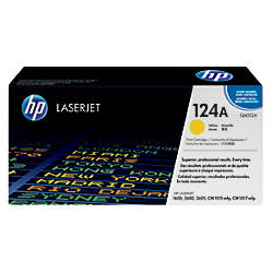 HP 124A Yellow Original Toner Cartridge