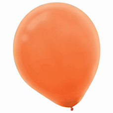 Amscan Latex Balloons 12 Orange Peel