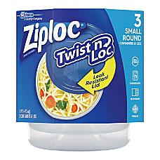 Ziploc Twist n Loc Small Containers