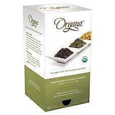 Organa Panfired Green Tea Pods 28