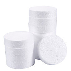 Craft Foam Circle 12 Pack Polystyrene