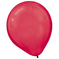 Amscan Latex Balloons 12 Apple Red