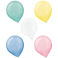 Amscan Pearlized Pastel Latex Balloons 12