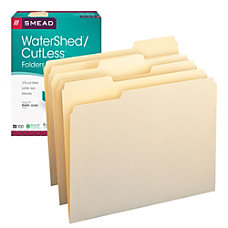 Smead CutLess And WaterShed CutLess File