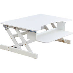 Lorell Sit To Stand Desk Riser White By Office Depot