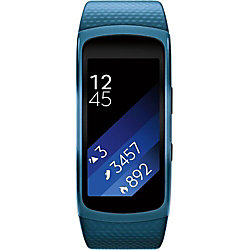 Samsung Gear Fit2 Smartwatch, Large, Blue