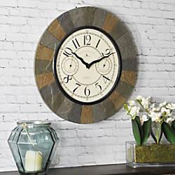 FirsTime Slate Garden Wall Clock 15