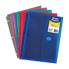 C Line Binder Pockets With Hook