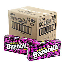 Bazooka Bubble Gum Party Box 4
