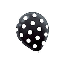 Amscan Polka Dot Latex Balloons 12