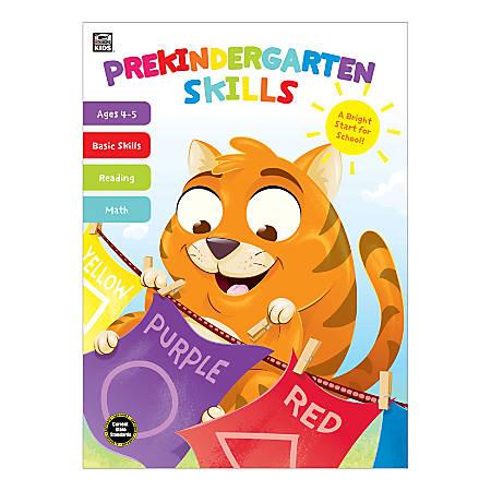 Thinking Kids Prekindergarten Skills Workbook, Preschool