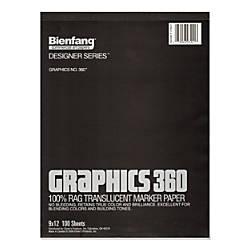 Bienfang Graphics 360 Translucent Marker Pad