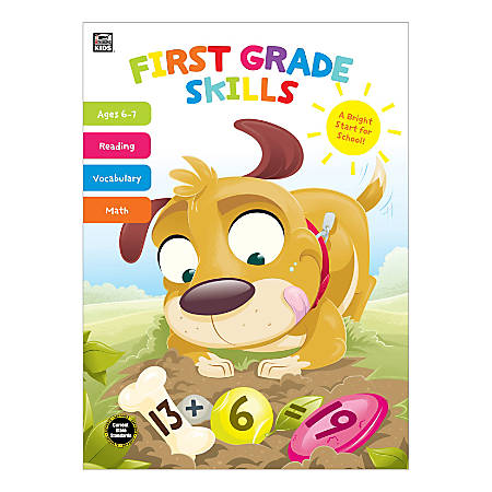 Thinking Kids First Grade Skills Workbook, Grade 1