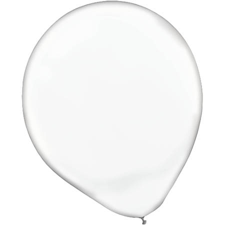 """Amscan Glossy 5"""" Latex Balloons, Clear, 50 Balloons Per Pack, Set Of 3 Packs"""