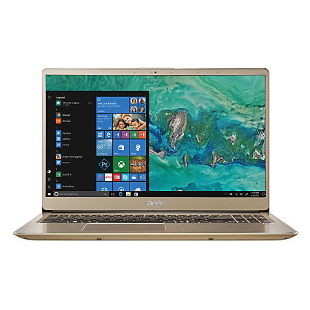 "Acer® Swift 3 Laptop, 15.6"" Screen, Intel® Core™ i7, 8GB Memory, 256GB Solid State Drive, Windows® 10"