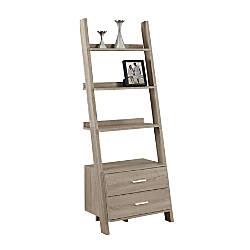Monarch Specialties 4 Shelf Ladder Bookcase