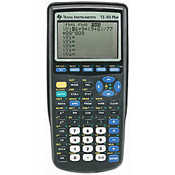 Texas Instruments TI 83 Plus Graphing Calculator - Office ...