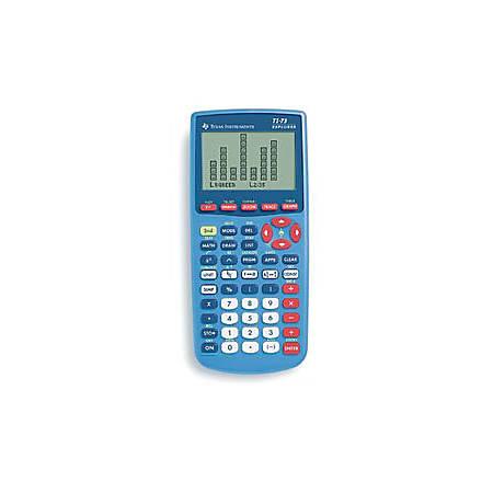 Texas Instruments Explorer TI-73 Graphing Calculator