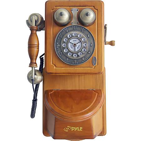 Pyle PRT45 Standard Phone - Bronze - 1 x Phone Line