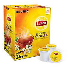 Lipton Black Tea Vanilla Single Serve