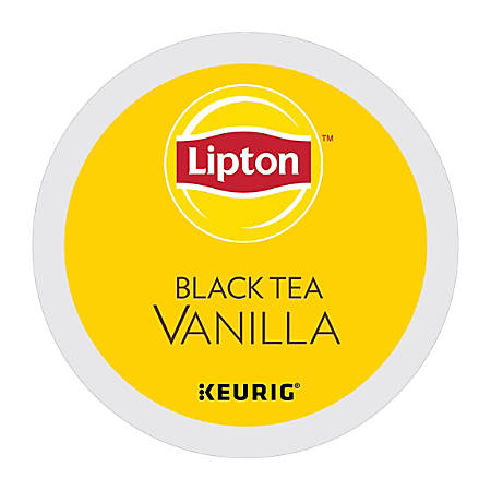 Lipton® Black Tea Vanilla K-Cup®, Pack of 24