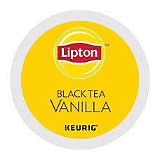 Lipton Black Tea Vanilla K Cup