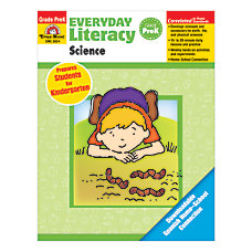 Evan Moor Everyday Literacy Science Grade