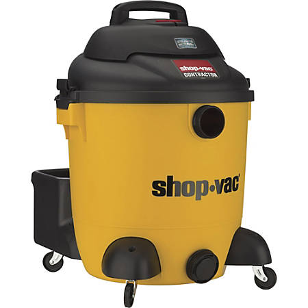 Shop-Vac Contractor Canister Vacuum Cleaner, 12 Gallon, Black/Yellow