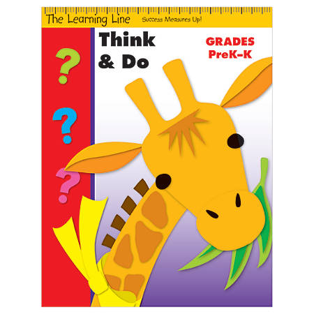 Evan-Moor® Learning Line: Think And Do, Grades Pre-K-K