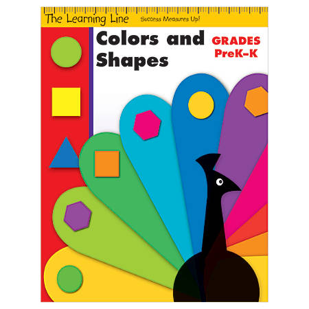 Evan-Moor® Learning Line: Shapes And Colors, Grades Pre-K-K