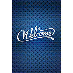 Custom Floor Decal Template FDV Welcome