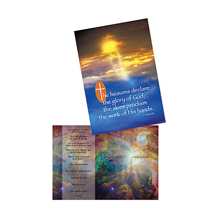 Barker Creek® Poster Duet Set, Heavenly Hosts, Pack Of 2