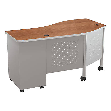 Balt Instructor Teacher's Desk II Desk, Cherry/Platinum